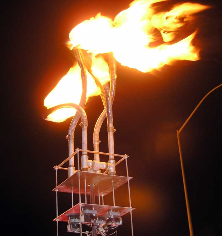 Fire Snakes at the Crucible FAF 2007