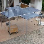 Portable Photovoltaic Power Solar Array / Structure