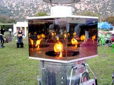 FlameWorld at the Xara 2006