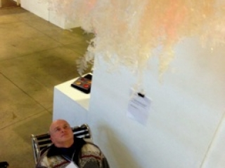 Breathing Chair, Mind Into Matter Symposium, Halifax, NS, Canada - 2014