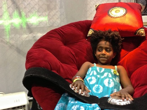 Reincarnation Chair at Maker Fair 2013