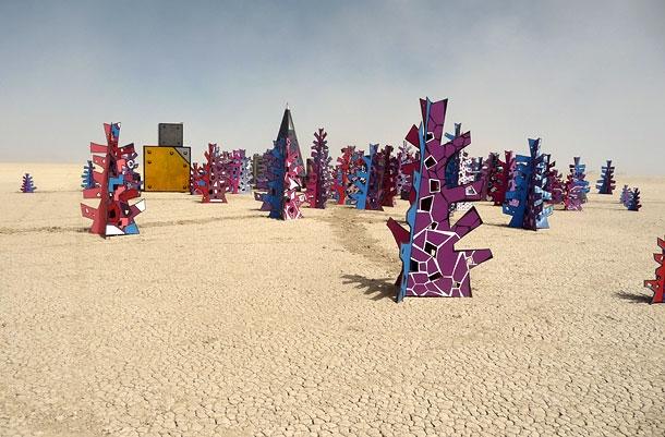 Walkabout Woods at Burning Man 2011